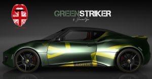 London Junkies UK Lotus Desing Autofolierung Green Striker