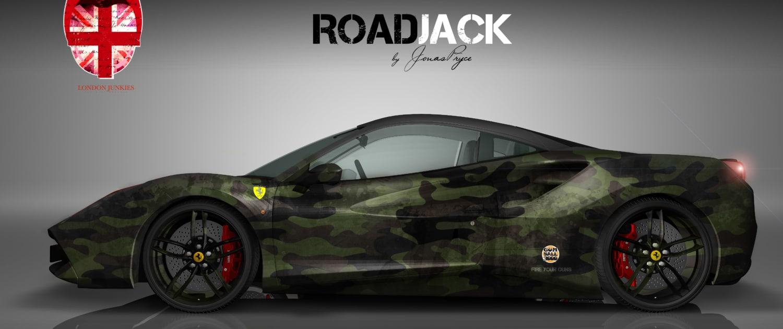 Ferrari Vollverklebung Carwrapping