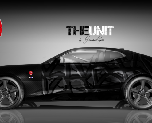 Camaro Design Autofolierung The Unit