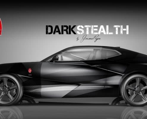 Camaro Design Autofolierung Dark Stealth