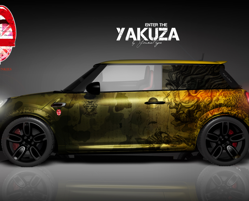 London Junkies Mini Works Design Yakuza