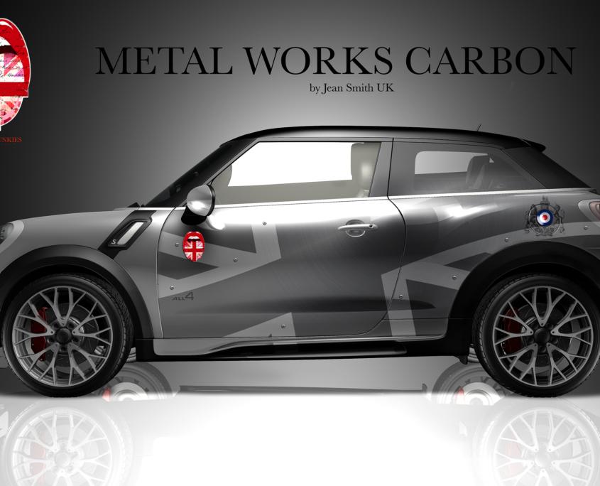 London Junkies Mini Clubman Design Autofolierung West Highland