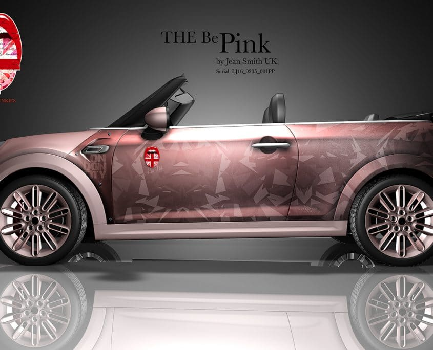 London Junkies Mini Cabrio Design The be Pink