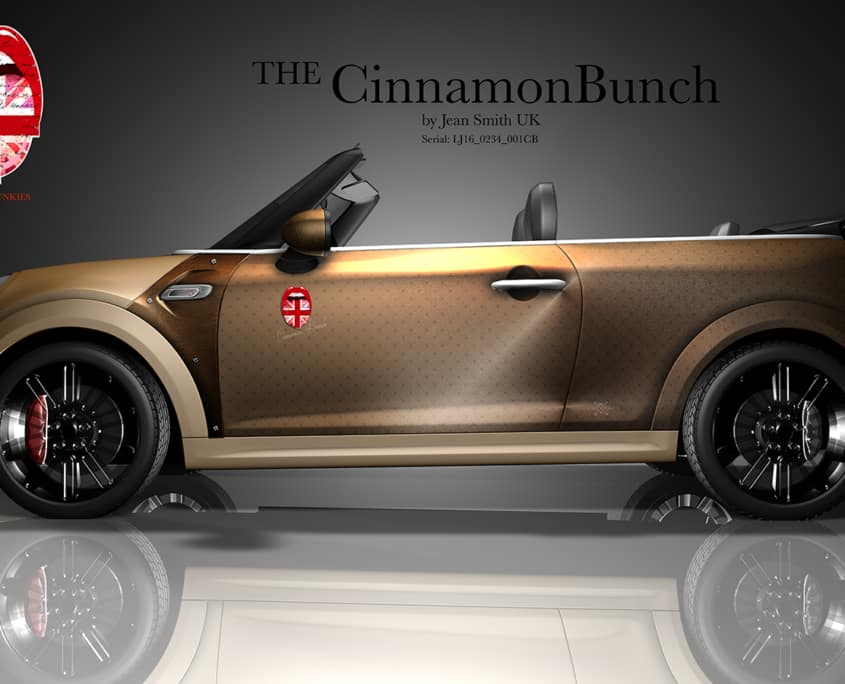 London Junkies Mini Cabrio Design The Cinnamon Bunch