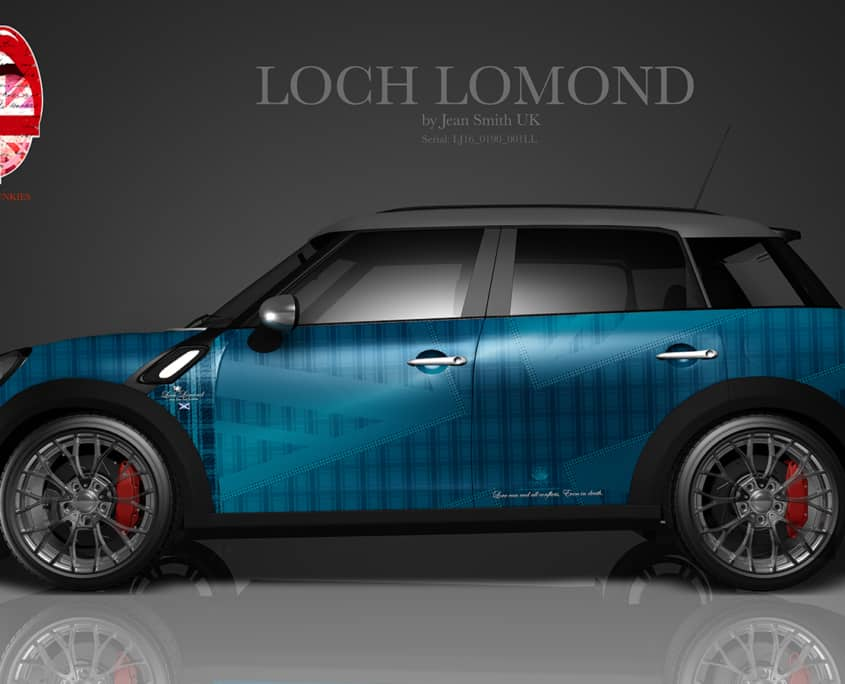 London Junkies Mini Clubman Design Loch Lomond