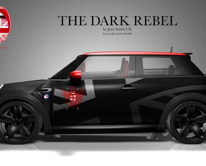 London Junkies Mini Works Design Dark Rebell