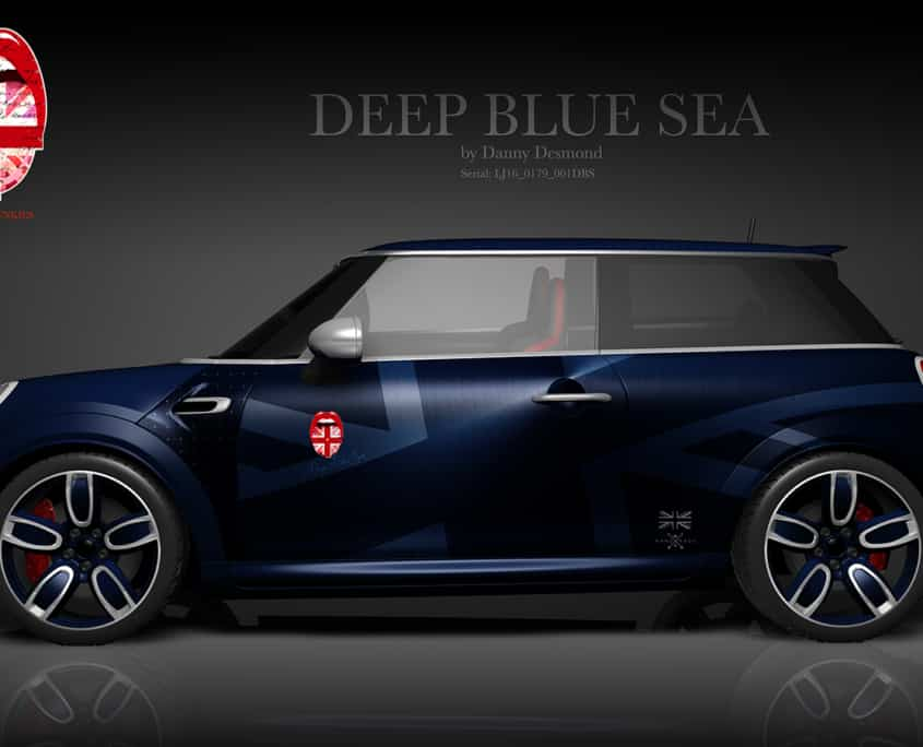 London Junkies Mini Works Design Deap Blue Sea