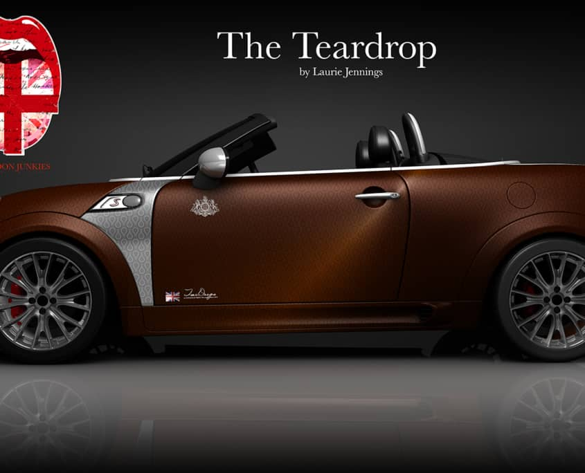 London Junkies Mini Cabrio Design The TearDrop