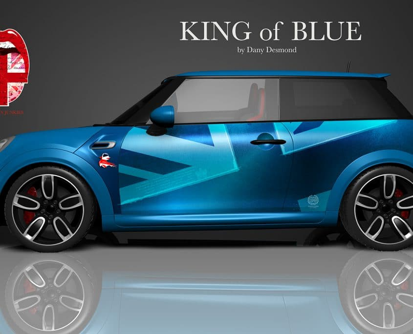 London Junkies Mini One Design King of Blue