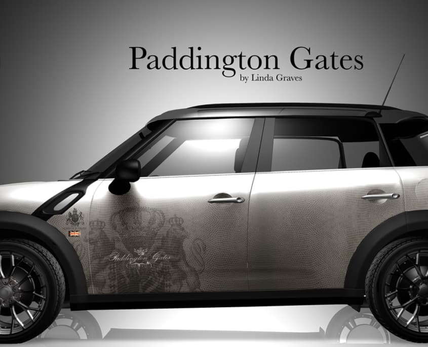 London Junkies Mini Clubman Design Paddington Gates