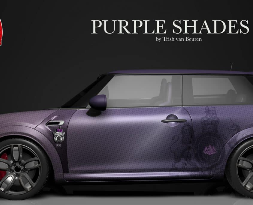 London Junkies Mini One Design Purple Shades