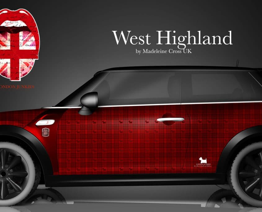 London Junkies Mini Clubman Design West Highland