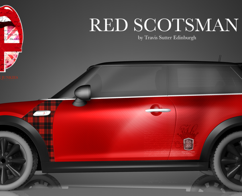 London Junkies Mini One Design Red Scott