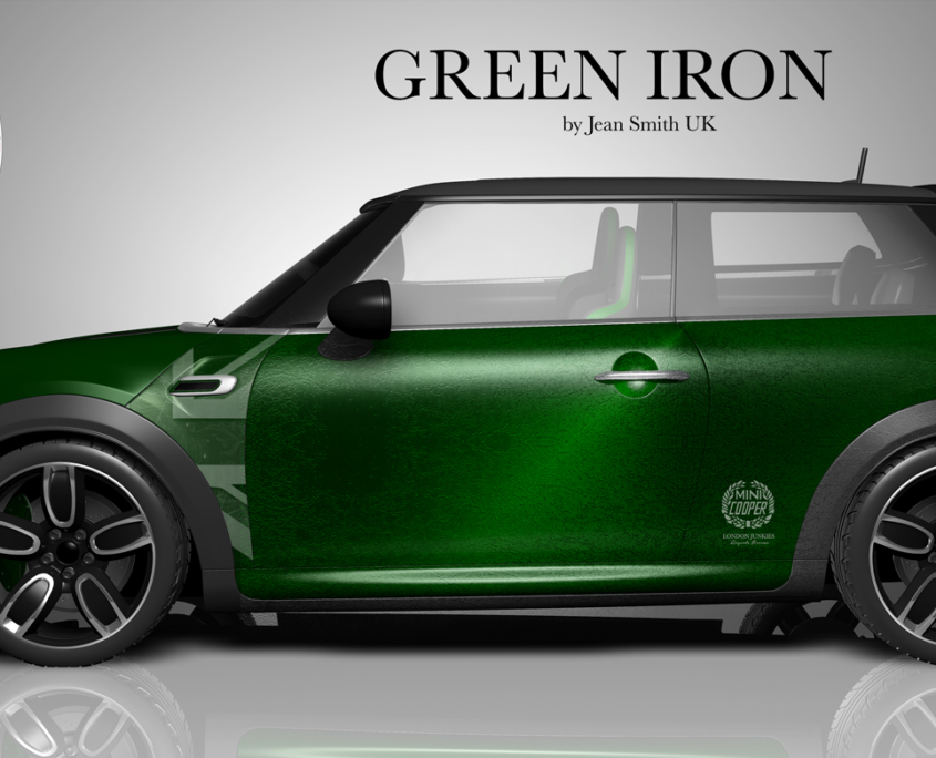 London Junkies Mini One Design Green Iron