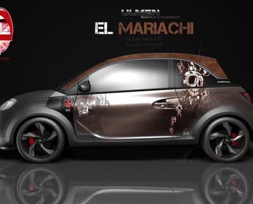 Opel Adam Autofolierung El Mariachi