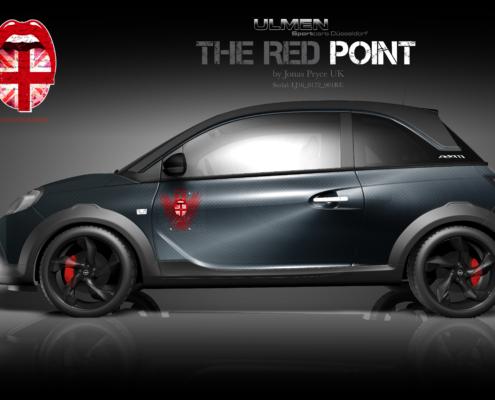 Opel Adam Autofolierung Redpoint
