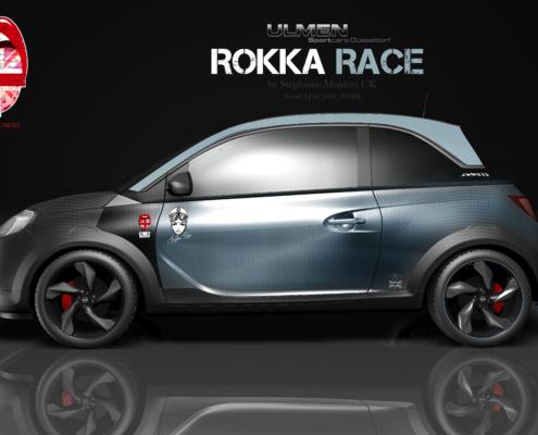 Opel Adam Autofolierung Rokka Race