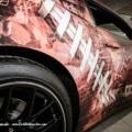 Camaro Autofolierung Carbon Panther Detail