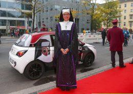 Opel Adam Autofolierung Sister Act Premiere