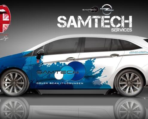 Opel Astra B2B Konzept SAMTECH