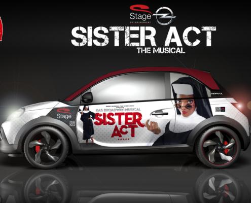 Opel Adam Sister Act