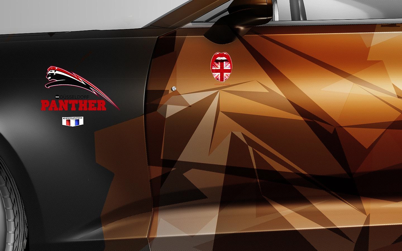 London Junkies Camaro Carbon Panther Detail