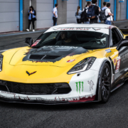 Corvette Autofolierung Carwrapping