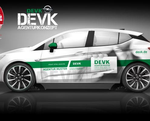 Opel B2B Konzept DEVK