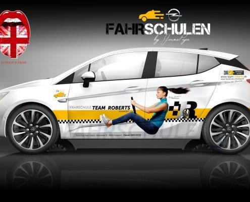 Opel B2B Konzept Fahrschule