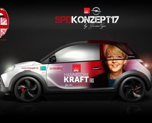 Opel Adam SPD B2B Konzept