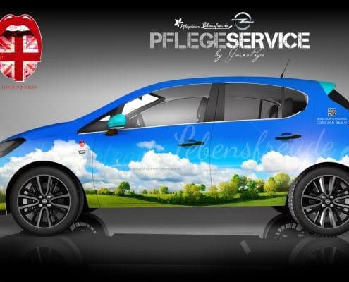 Opel Corsa B2B Konzept Lebensfreude
