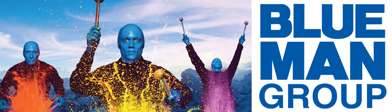 Blue Man Group Vollverklebung Carwrapping