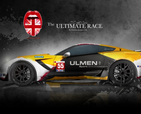 Corvette C7 Design Autofolierung Ultimate Race