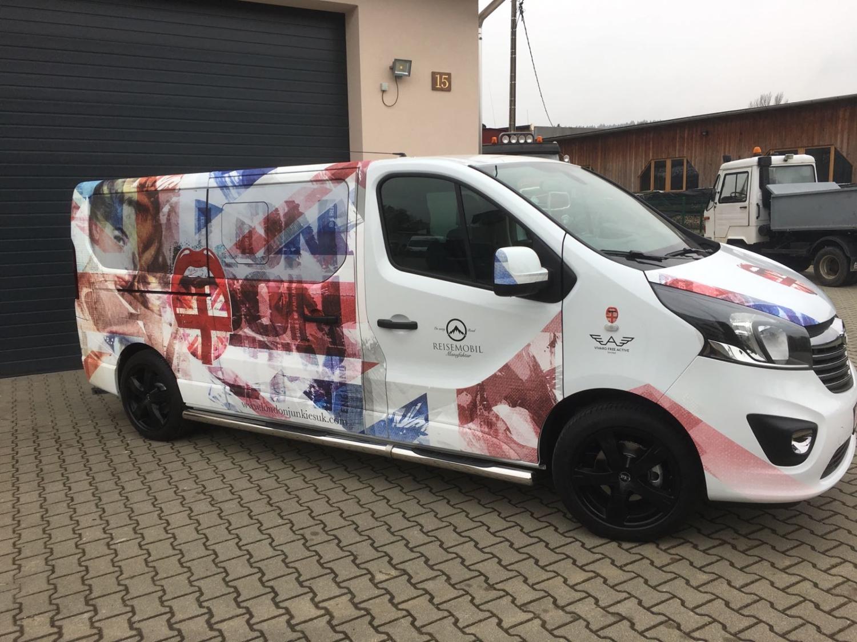 Opel Vivaro Vollverklebung Carwrapping