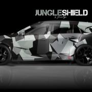 London Junkies OPC Autofolierung Design Jungle Shield