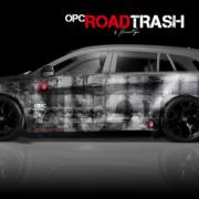 London Junkies OPC Autofolierung Design Road Trash