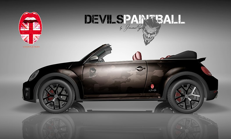 Beetle Design Devils Paintball