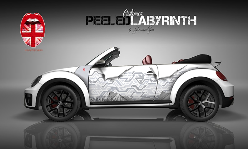 Beetle Design Peeled Labyrinth