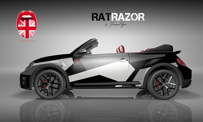 Beetle Design Rat Razor