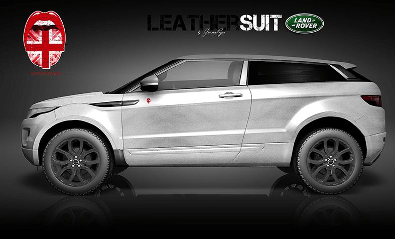 Land Rover Autofolierung Design Leather Suit