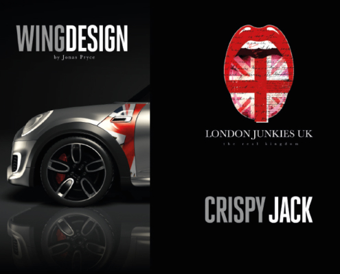 Mini Wing Design Crispy Jack
