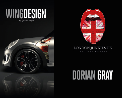 Mini Wing Design Dorian Gray