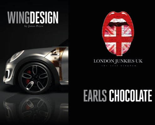 Mini Wing Design Earls Chocolate