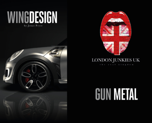Mini Wing Design Gun Metal