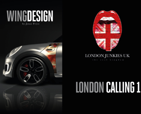 Mini Wing Design London Calling 1