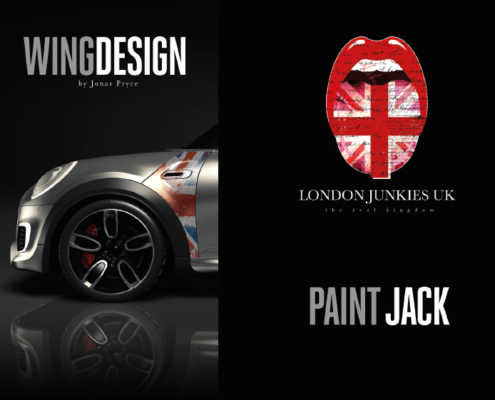 Mini Wing Design Paint Jack