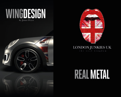 Mini Wing Design Real Metal