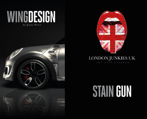 Mini Wing Design Stain Gun