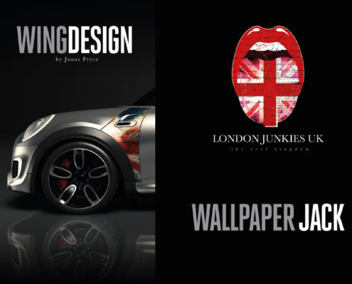Mini Wing Design Wallpaper Jack