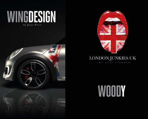 Mini Wing Design Woody